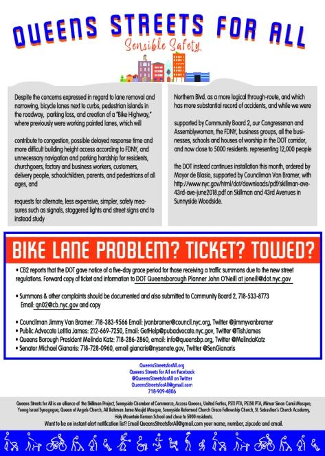 Queensstreets queensstreetsnycgmail ticket towed new street regulation related problem thecheapjerseys Images
